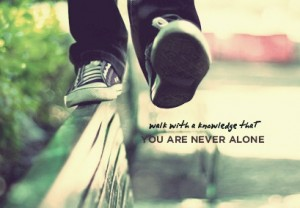 Lou blog: Never once did I ever walk alone – Revelation Family Church